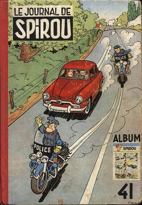 Couverture de (Recueil) Spirou (Album du journal) -41- Spirou album du journal