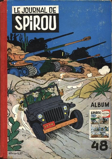 Couverture de (Recueil) Spirou (Album du journal) -48- Spirou album du journal