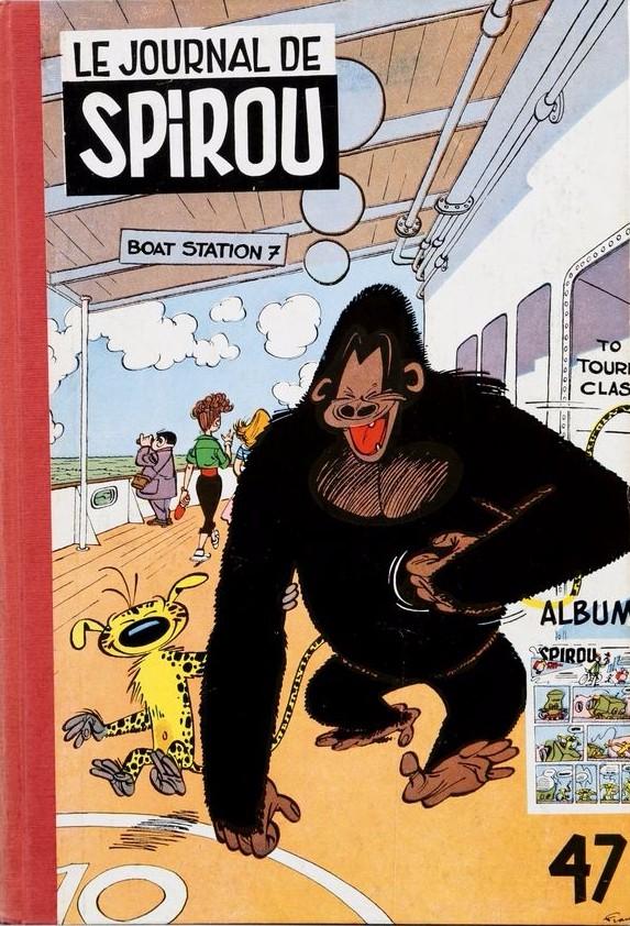 Couverture de (Recueil) Spirou (Album du journal) -47- Spirou album du journal