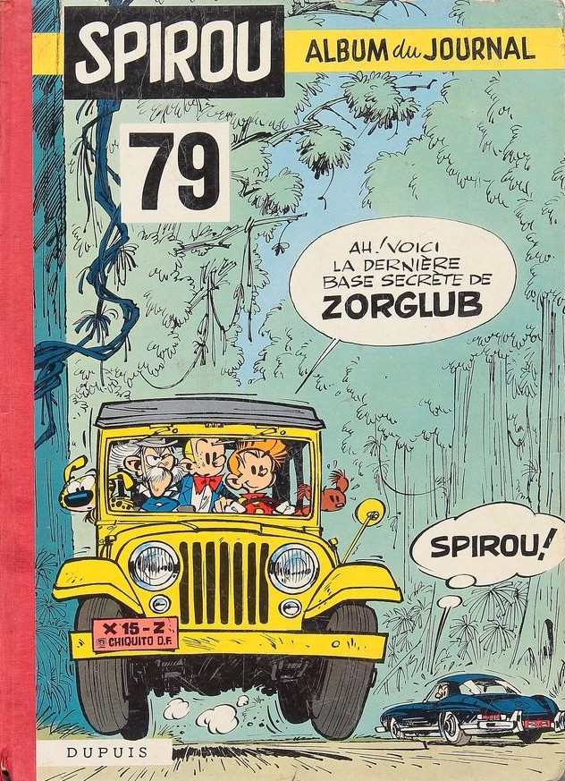 Couverture de (Recueil) Spirou (Album du journal) -79- Spirou album du journal