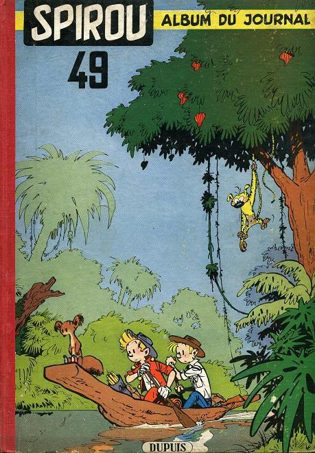 Couverture de (Recueil) Spirou (Album du journal) -49- Spirou album du journal