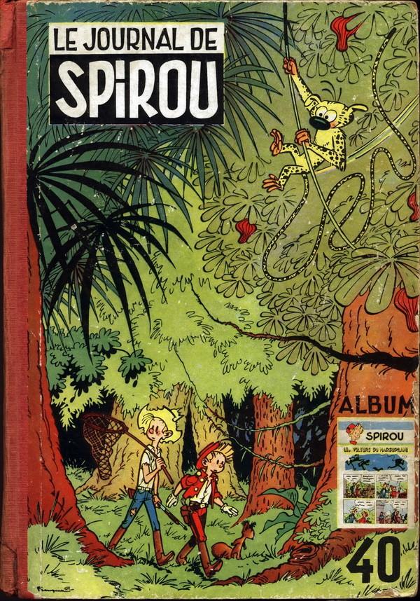 Couverture de (Recueil) Spirou (Album du journal) -40- Spirou album du journal