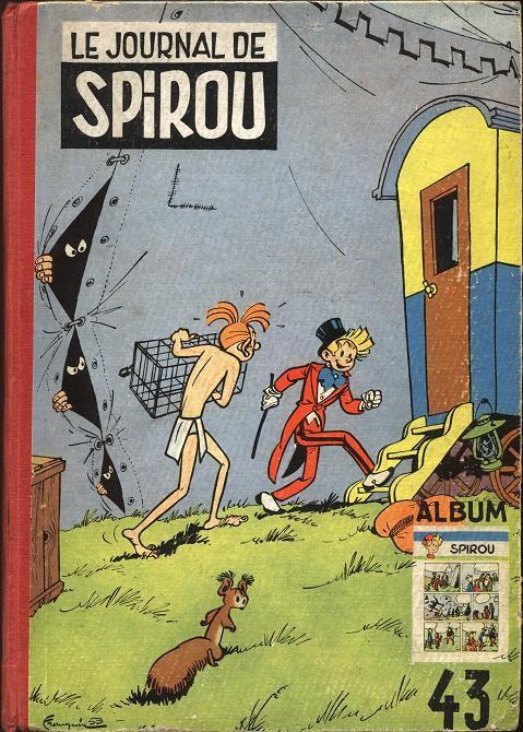 Couverture de (Recueil) Spirou (Album du journal) -43- Spirou album du journal