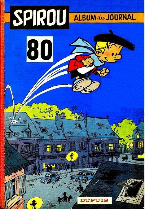 Couverture de (Recueil) Spirou (Album du journal) -80- Spirou album du journal