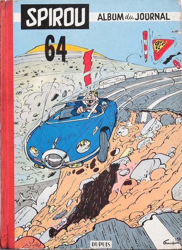 Couverture de (Recueil) Spirou (Album du journal) -64- Spirou album du journal
