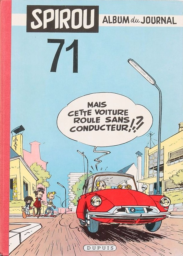 Couverture de (Recueil) Spirou (Album du journal) -71- Spirou album du journal