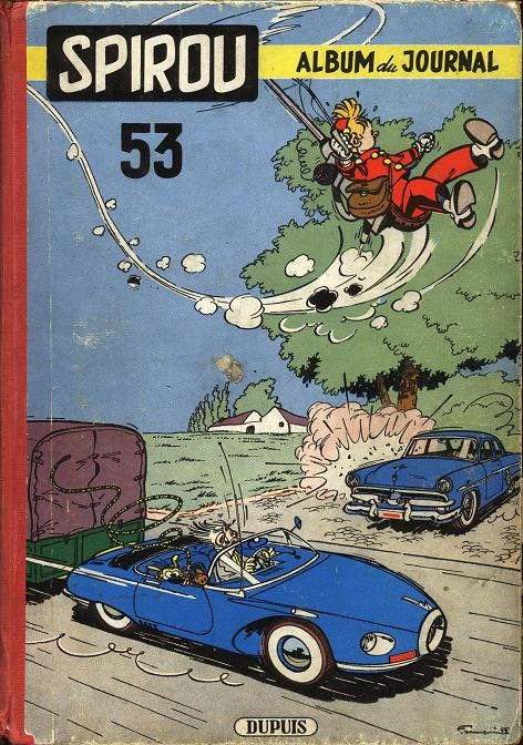 Couverture de (Recueil) Spirou (Album du journal) -53- Spirou album du journal