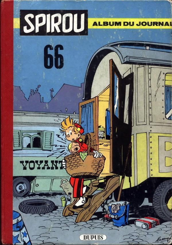 Couverture de (Recueil) Spirou (Album du journal) -66- Spirou album du journal