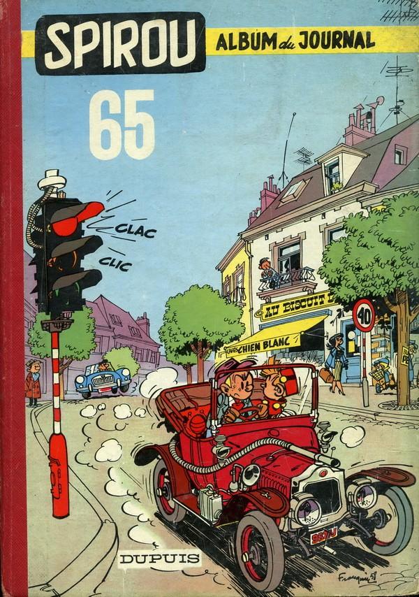 Couverture de (Recueil) Spirou (Album du journal) -65- Spirou album du journal