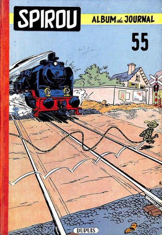 Couverture de (Recueil) Spirou (Album du journal) -55- Spirou album du journal