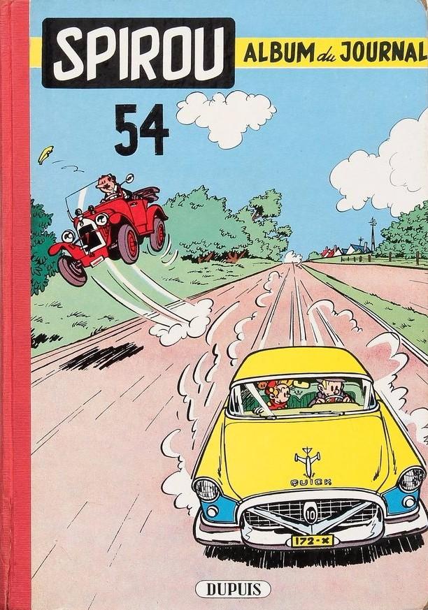 Couverture de (Recueil) Spirou (Album du journal) -54- Spirou album du journal