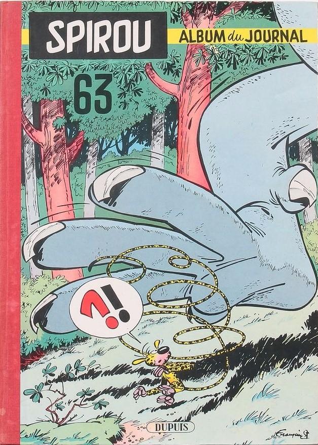 Couverture de (Recueil) Spirou (Album du journal) -63- Spirou album du journal