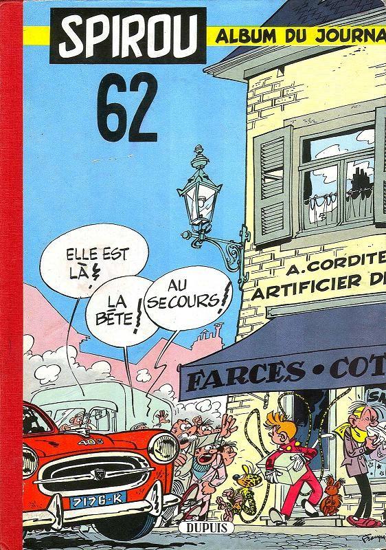 Couverture de (Recueil) Spirou (Album du journal) -62- Spirou album du journal
