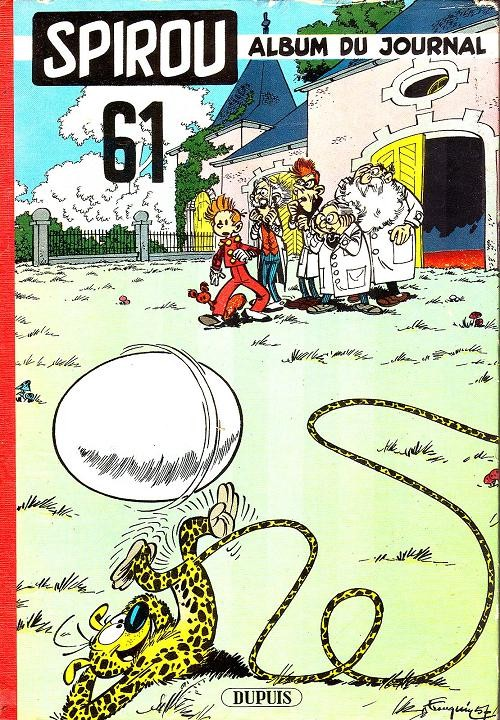 Couverture de (Recueil) Spirou (Album du journal) -61- Spirou album du journal