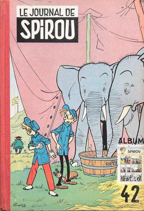 Couverture de (Recueil) Spirou (Album du journal) -42- Spirou album du journal