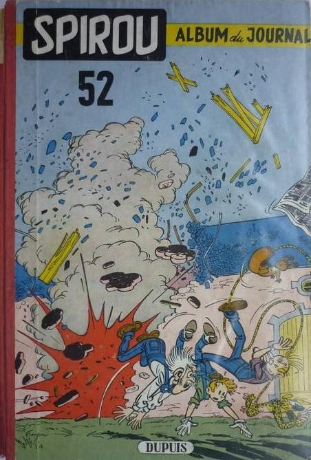 Couverture de (Recueil) Spirou (Album du journal) -52- Spirou album du journal