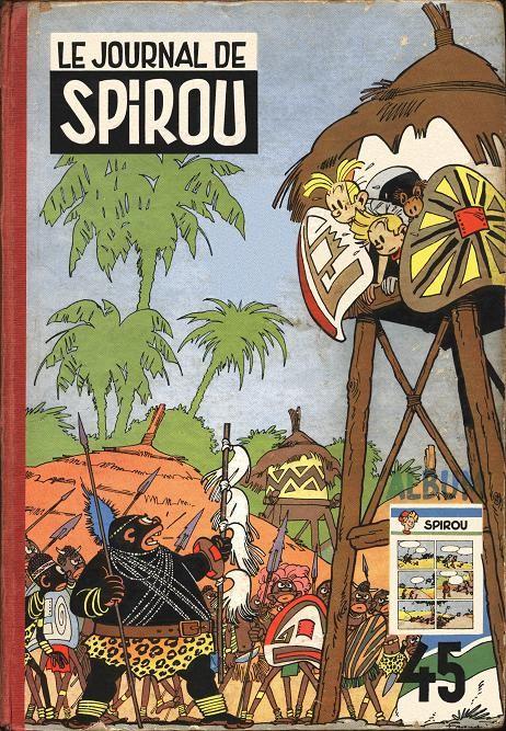 Couverture de (Recueil) Spirou (Album du journal) -45- Spirou album du journal