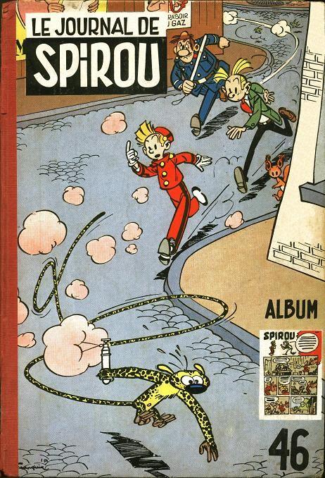 Couverture de (Recueil) Spirou (Album du journal) -46- Spirou album du journal