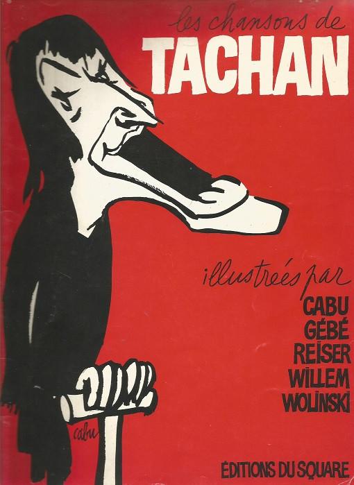 Couverture de Les chansons de Tachan -1- Volume 1