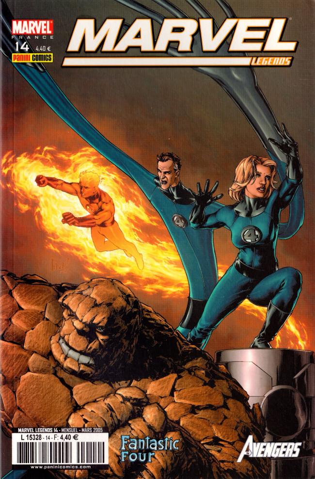Couverture de Marvel Legends -14- La vérité et ses conséquences