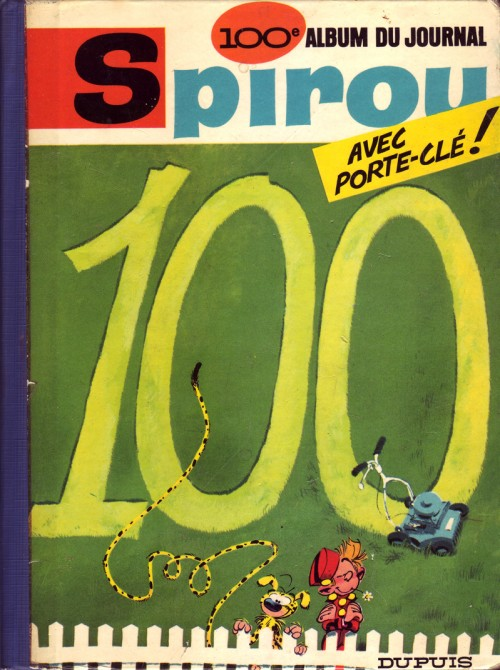 Couverture de (Recueil) Spirou (Album du journal) -100- Spirou album du journal