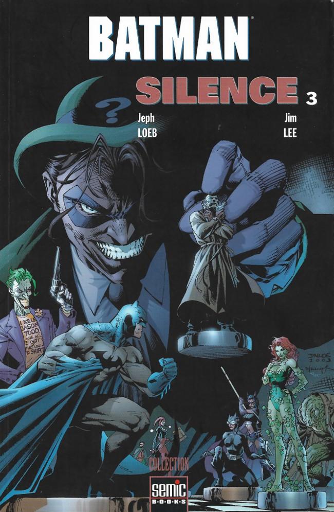Couverture de Batman : Silence -3- Silence 3