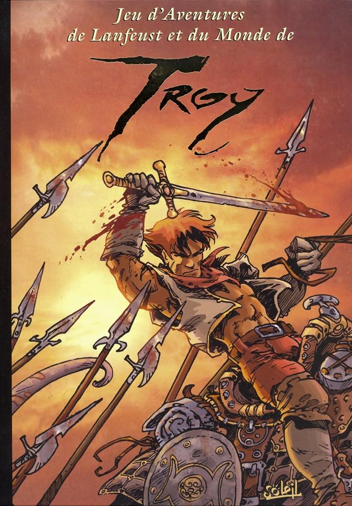 Couverture de Lanfeust de Troy -HS5- Jeu d'aventures de Lanfeust et du Monde de Troy