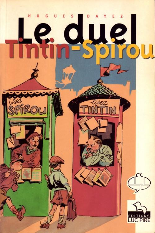 Couverture de (DOC) Études et essais divers - Le duel Tintin-Spirou