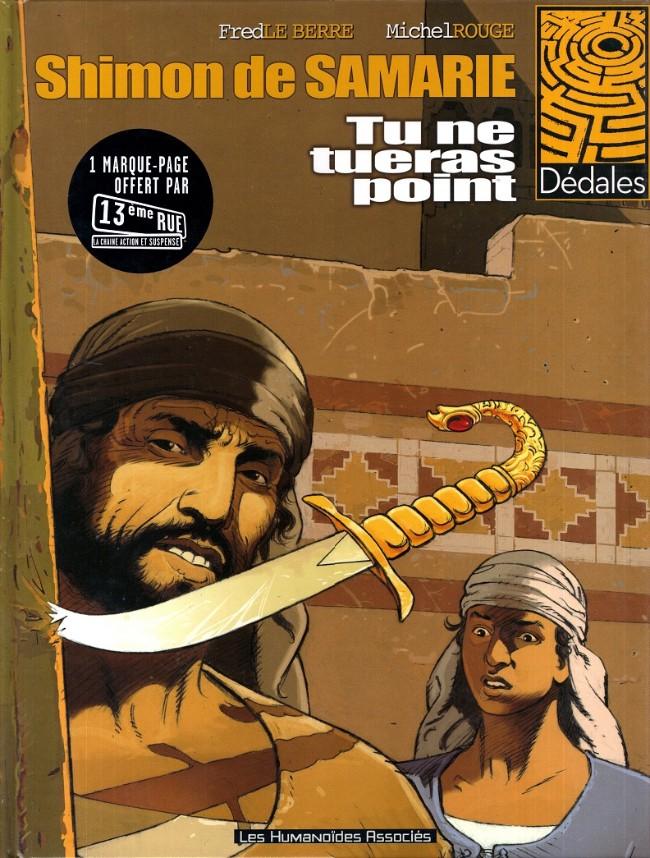 Couverture de Shimon de Samarie / Le Samaritain -1- Tu ne tueras point