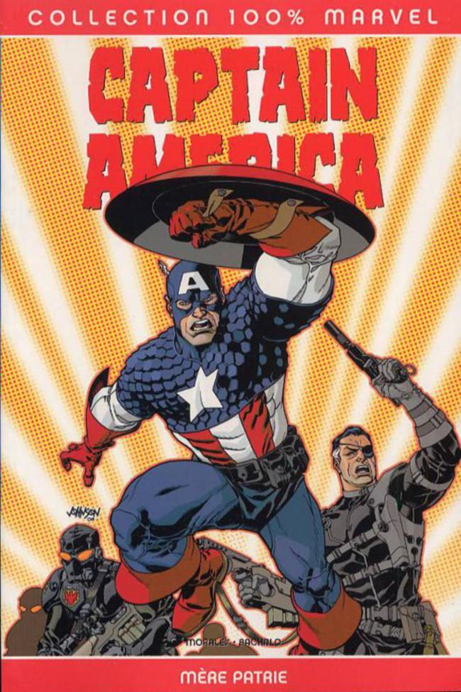 Couverture de Captain America (100% Marvel) -2- Mère patrie