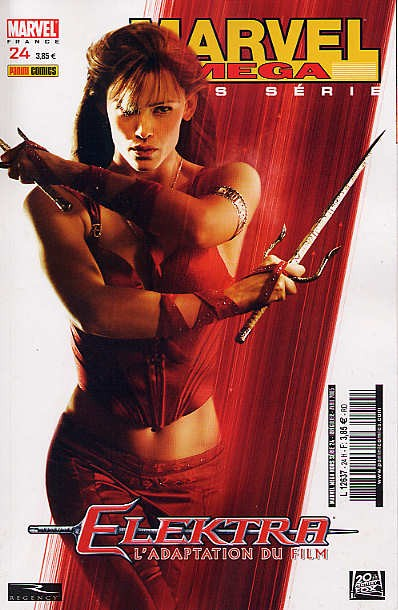 Couverture de Marvel Méga Hors Série -24- Elektra : L'Adaptation du film