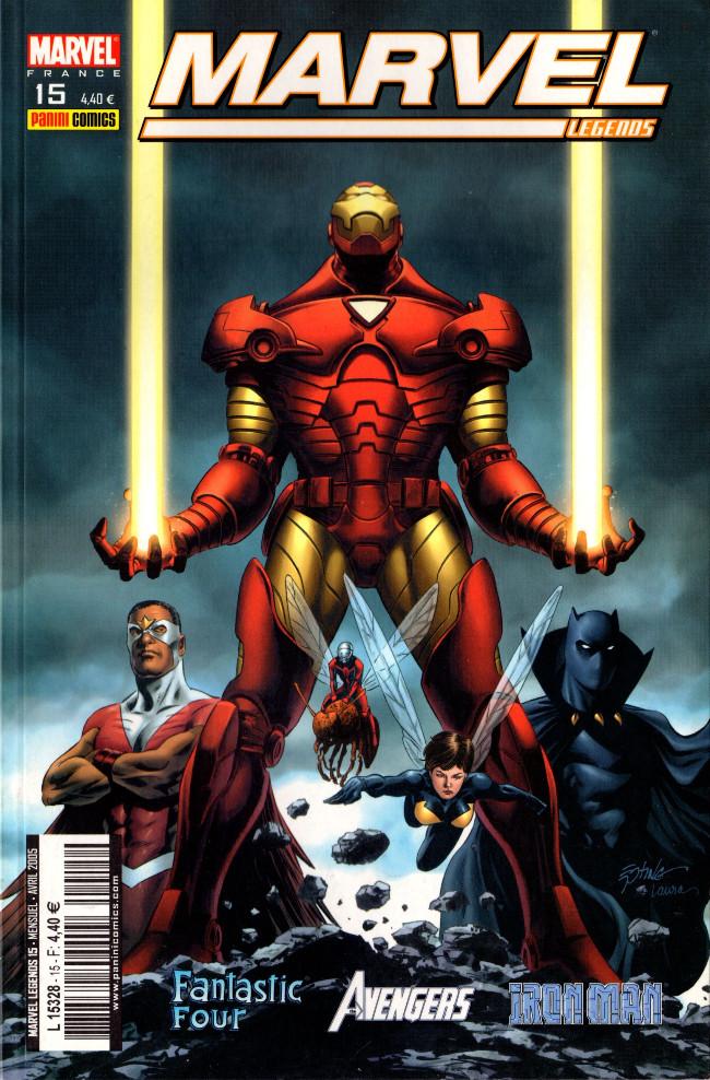 Couverture de Marvel Legends -15- Guerre territoriale