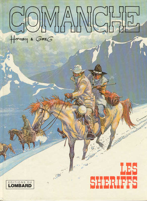 Couverture de Comanche -8- Les shériffs