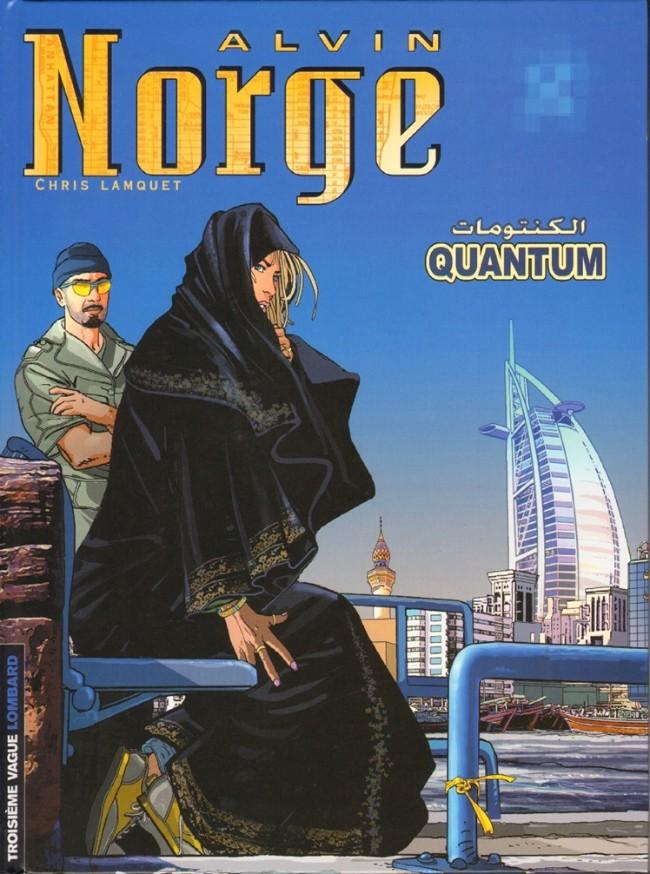 Couverture de Alvin Norge -5- Quantum
