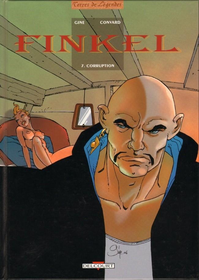 Couverture de Finkel -7- Corruption