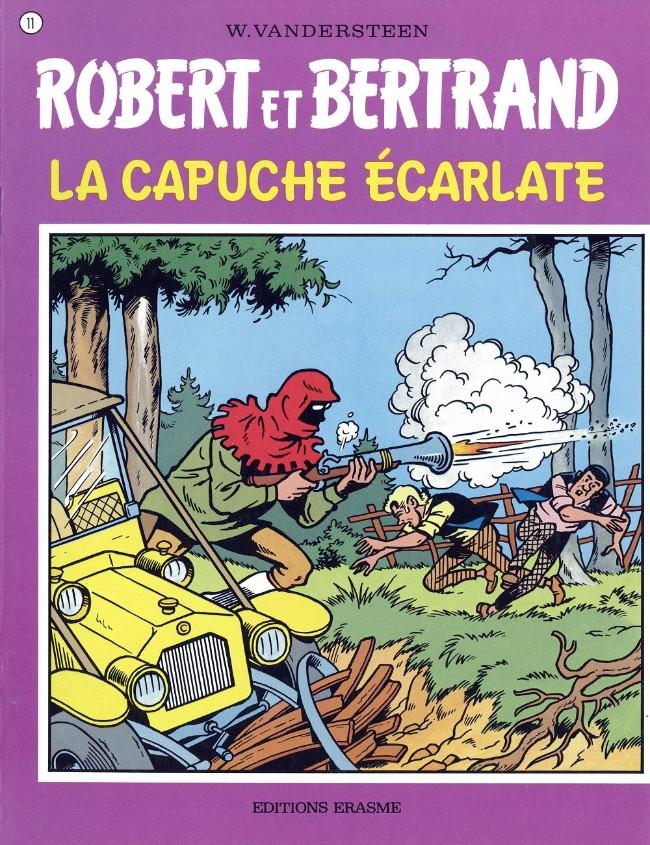 Couverture de Robert et Bertrand -11- La capuche écarlate