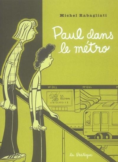 Couverture de Paul -4- Paul dans le métro