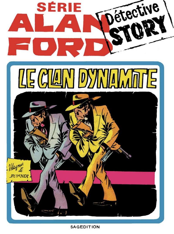 Couverture de Alan Ford (Sagédition) -1- Le clan dynamite