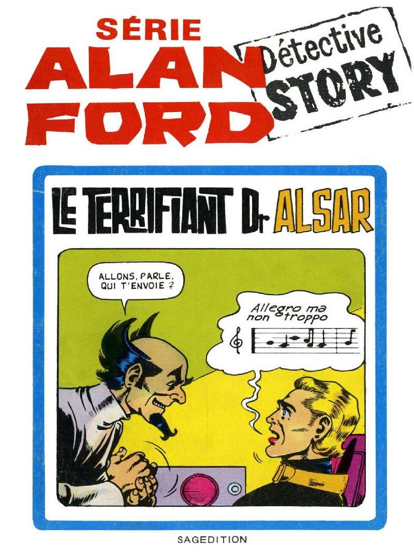 Couverture de Alan Ford (Sagédition) -4- Terrifiant Dr Alsar