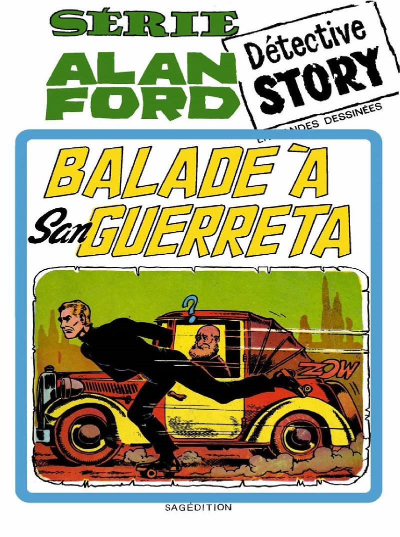 Couverture de Alan Ford (Sagédition) -5- Balade à San Guerreta