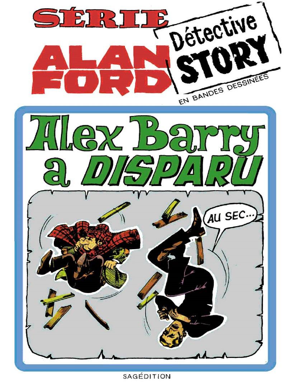 Couverture de Alan Ford (Sagédition) -6- Alex Barry a disparu