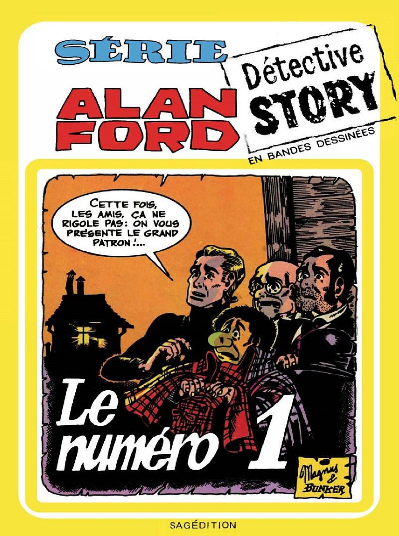 Couverture de Alan Ford (Sagédition) -7- Le numéro 1