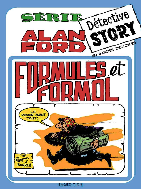 Couverture de Alan Ford (Sagédition) -8- Formules et formol