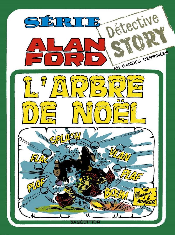 Couverture de Alan Ford (Sagédition) -9- L'arbre de Noël