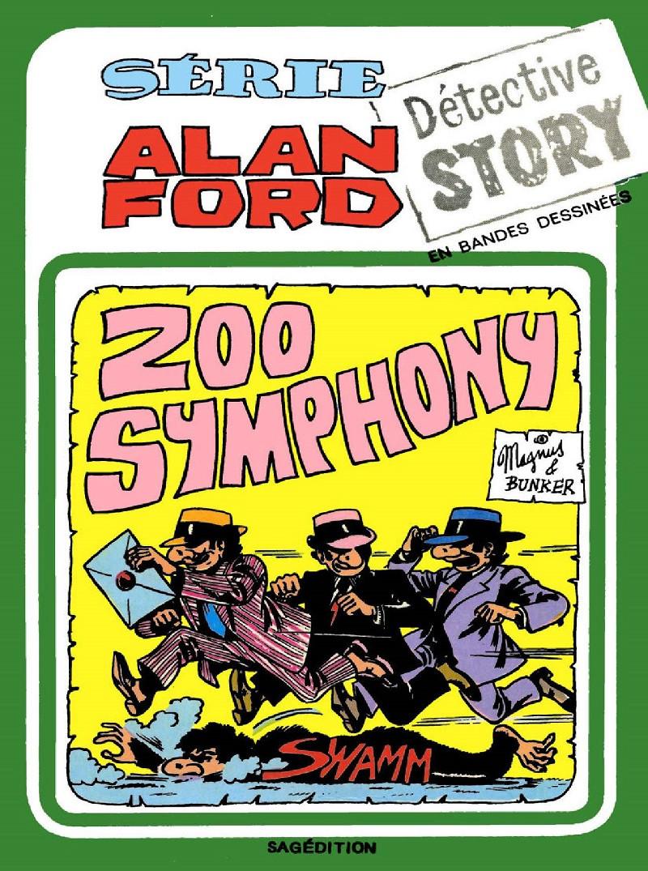 Couverture de Alan Ford (Sagédition) -10- Zoo symphony