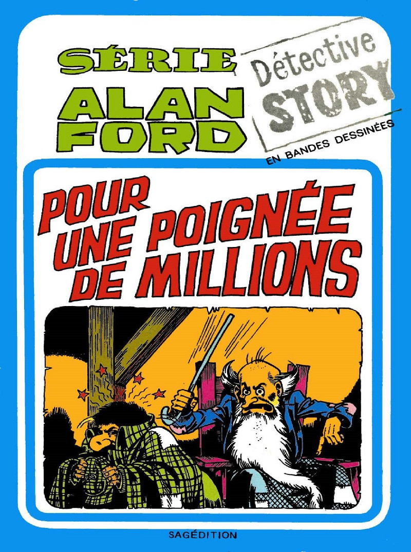 Couverture de Alan Ford (Sagédition) -11- Pour une poignée de millions