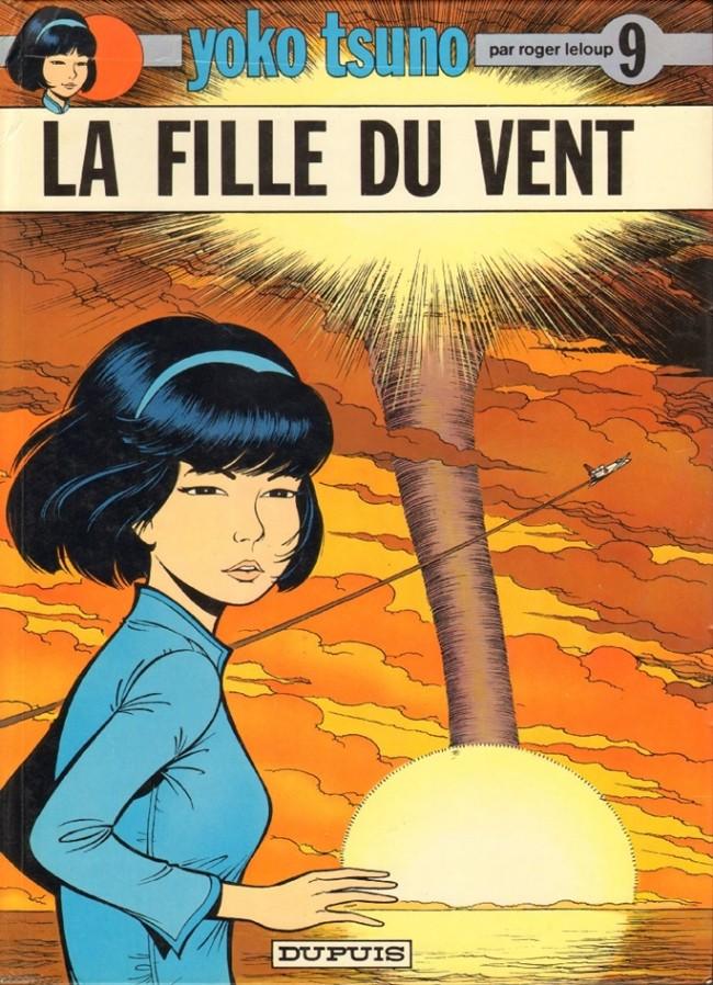 Couverture de Yoko Tsuno -9- La fille du vent