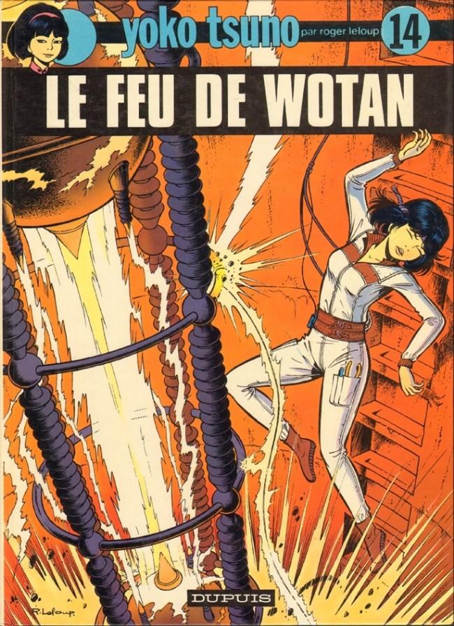 Couverture de Yoko Tsuno -14- Le feu de Wotan
