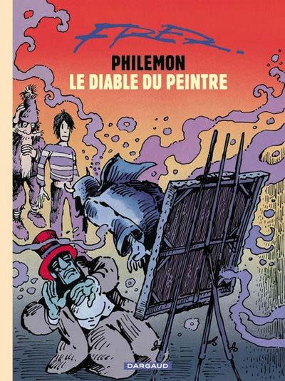 Couverture de Philémon (Nouvelle édition) -15c- Le diable du peintre