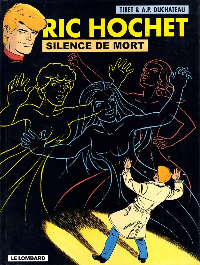 Couverture de Ric Hochet -70- Silence de mort